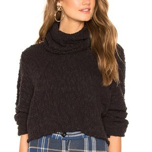 Free People | Big Easy Cowl Neck Cropped Sweater